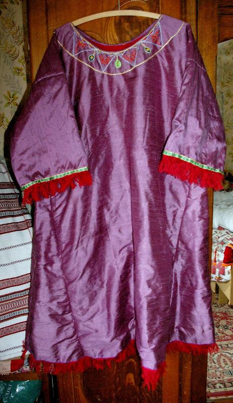Robe mérovingienne VIème SG1L7261