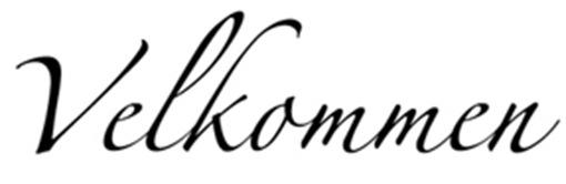 veggord velkommen