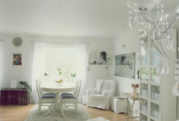 Stuen fra sofaen
