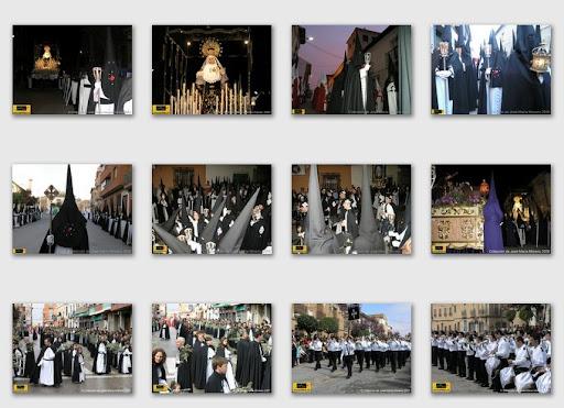 álbumes de fotografías de la Cofradía