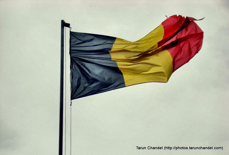 Belgium Flag Dinant Namur Belgium, Tarun Chandel Photoblog