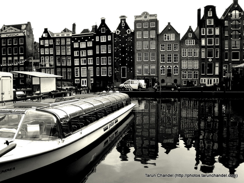 Canal Tour Boat Amsterdam Netherlands Dutch Holland, Tarun Chandel Photoblog