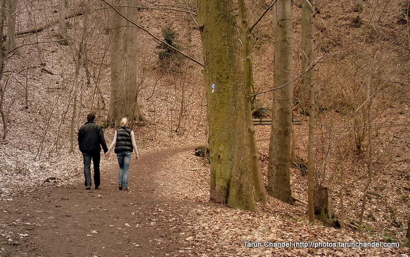 German Couple Holding Hands Walk, Tarun Chandel Photoblog