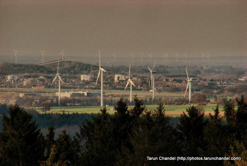 Aachen Vaalserberg Drielandenpunt Windmills Germany Netherlands Belgium, Tarun Chandel Photoblog