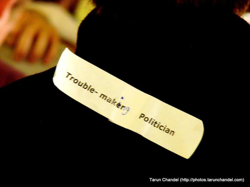 Social Innovation Camp London: Troublemaking Politician, Tarun Chandel Photoblog