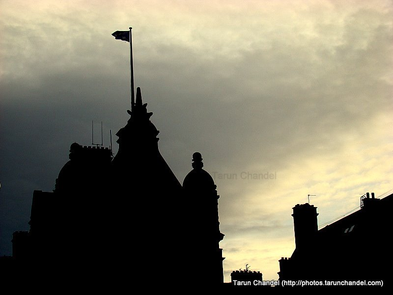 Edinburgh Silhouette, Tarun Chandel Photoblog