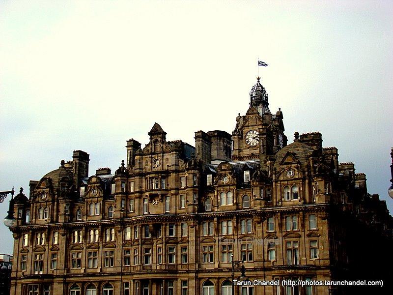 Edinburgh, Scottish Flag, Tarun Chandel Photoblog