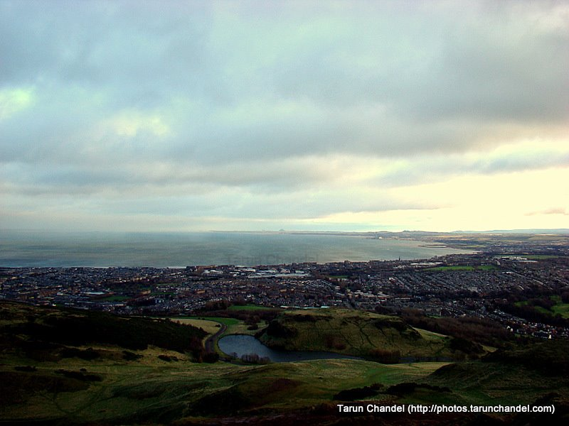 View from Arthur's Seat Edinburgh, Tarun Chandel Photoblog
