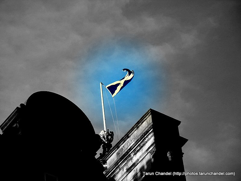 Scottish Flag, Tarun Chandel Photoblog