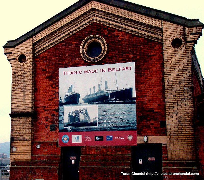 Titanic Belfast, Tarun Chandel Photoblog