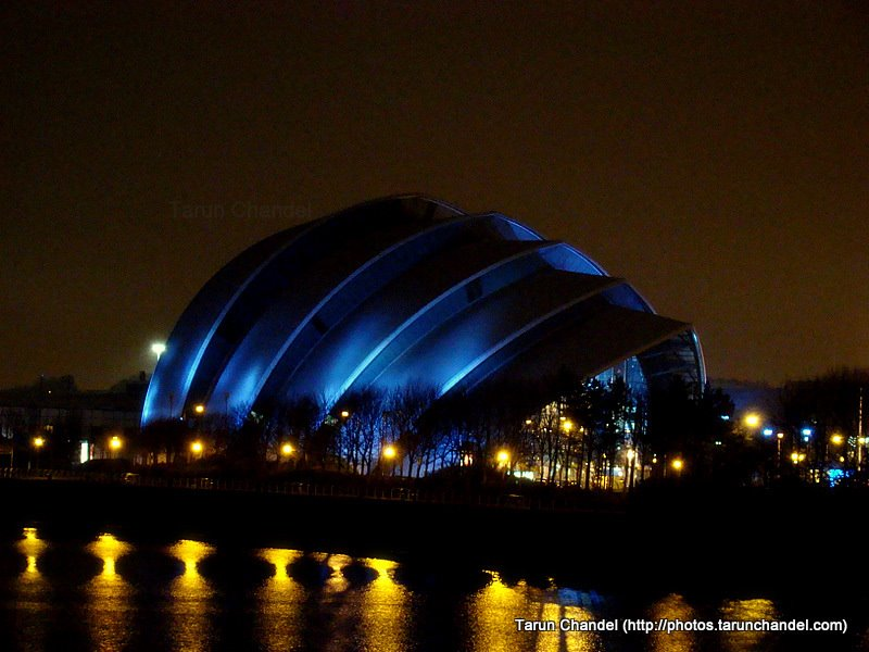 Armadillo, The Clyde Auditorium, Tarun Chandel Photoblog
