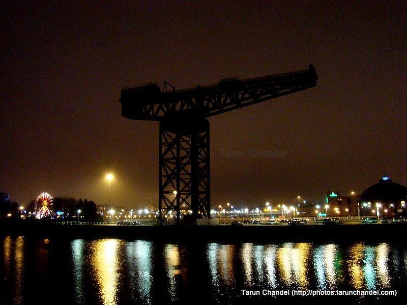 Finnieston Crane by the Clyde Riverside, Tarun Chandel Photoblog
