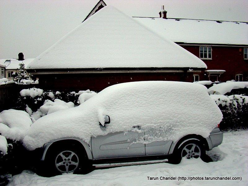 London Snow, Tarun Chandel Photoblog