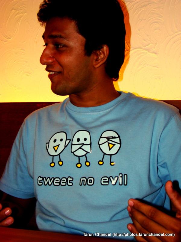 Aperitweat, Tweet No Evil, Tarun Chandel Photoblog