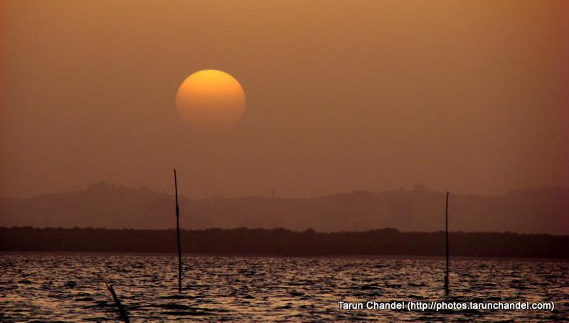 Sagar Vihar Vashi, Calmness of a setting sun, Tarun Chandel Photoblog
