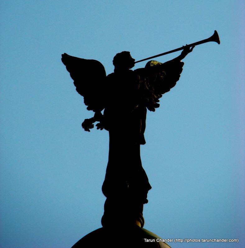 Angel of Victory Victoria Terminal Kolkata Trip, Tarun Chandel Photoblog