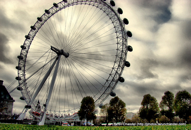London Eye HDR, Tarun Chandel Photoblog