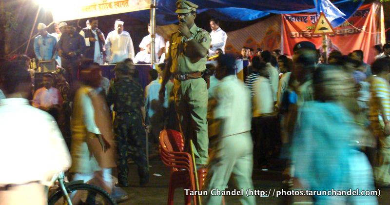 Mumbai Police Ganesh Visarjan Festival Mumbai, Tarun Chandel Photoblog