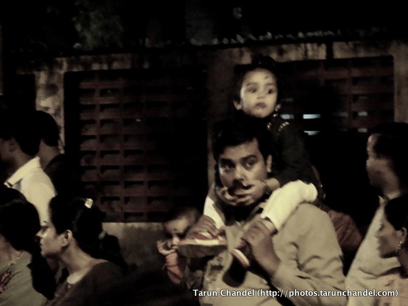 Father Son Ganesh Visarjan Festival Mumbai, Tarun Chandel Photoblog