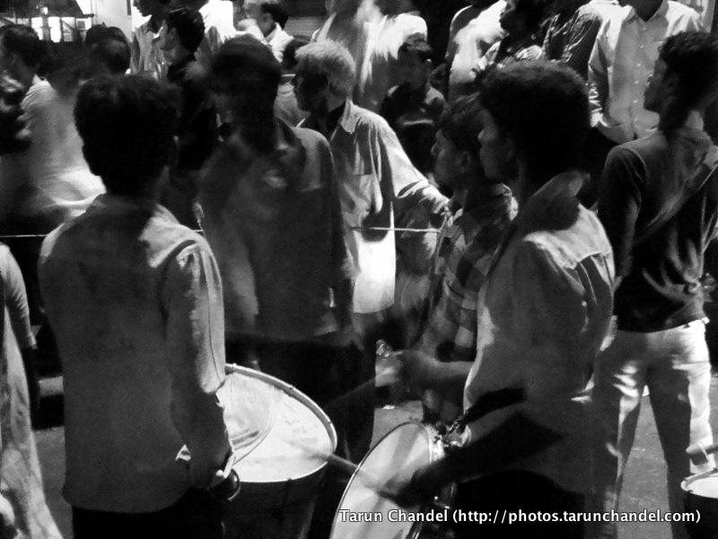 Music Ganesh Visarjan Festival Mumbai, Tarun Chandel Photoblog