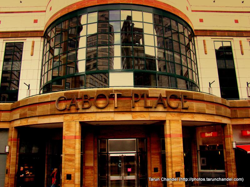 Cabot Place Canary Wharf London, Tarun Chandel Photoblog