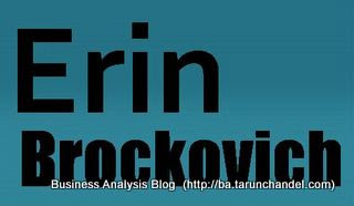 erin brockovich Business Analysis Blog Tarun Chandel
