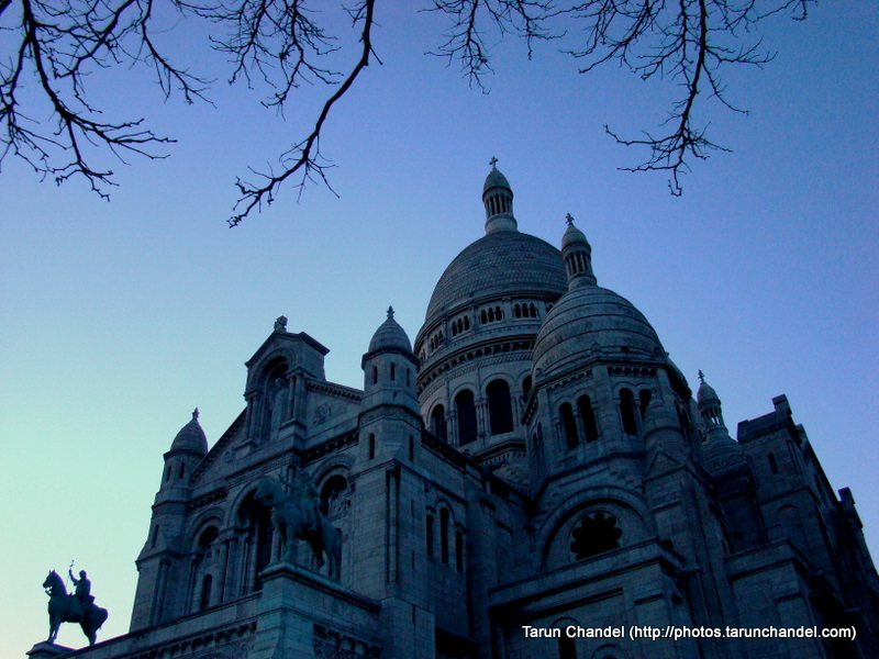 Montmarte Basilica of the Sacred Heart of Jesus of Paris Basilique du Sacr%C3%A9-C%C5%93ur Paris France, Tarun Chandel Photoblog