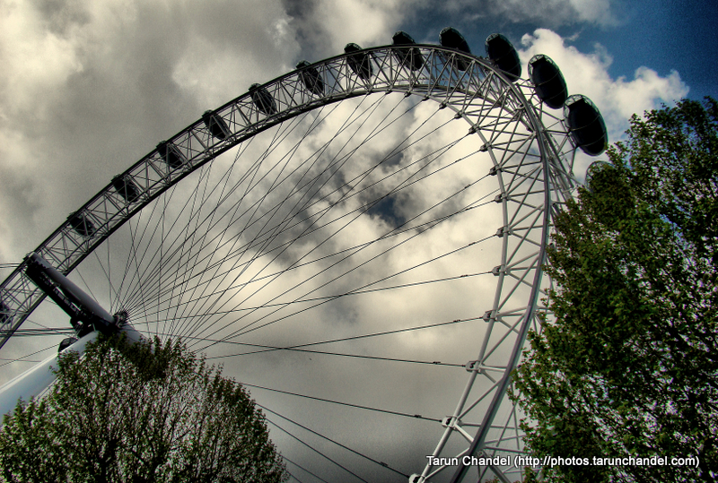 London Eye Sky London UK, Tarun Chandel Photoblog
