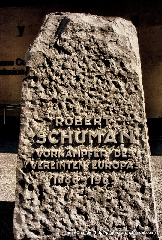 Robert Schuman Belgium Brussels, Tarun Chandel Photoblog