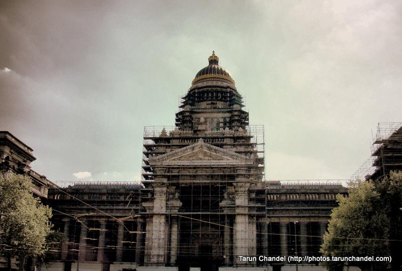 Law Courts of Brussels Palais de Justice Belgium Brussels, Tarun Chandel Photoblog