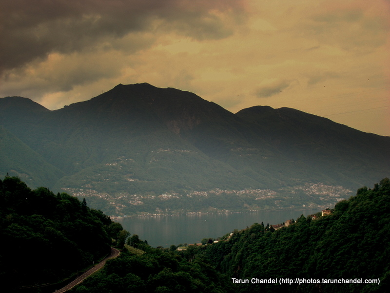 Lake Maggiore Hills Locarno Switzerland, Tarun Chandel Photoblog