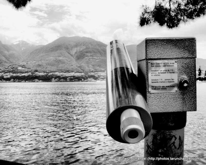 Lake Maggiore Alps View at Locarno Switzerland, Tarun Chandel Photoblog