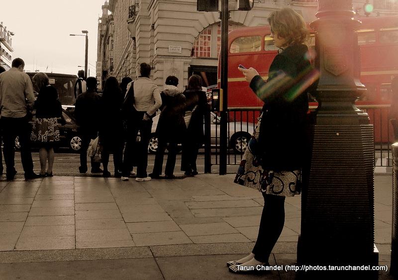 Alone London UK, Tarun Chandel Photoblog