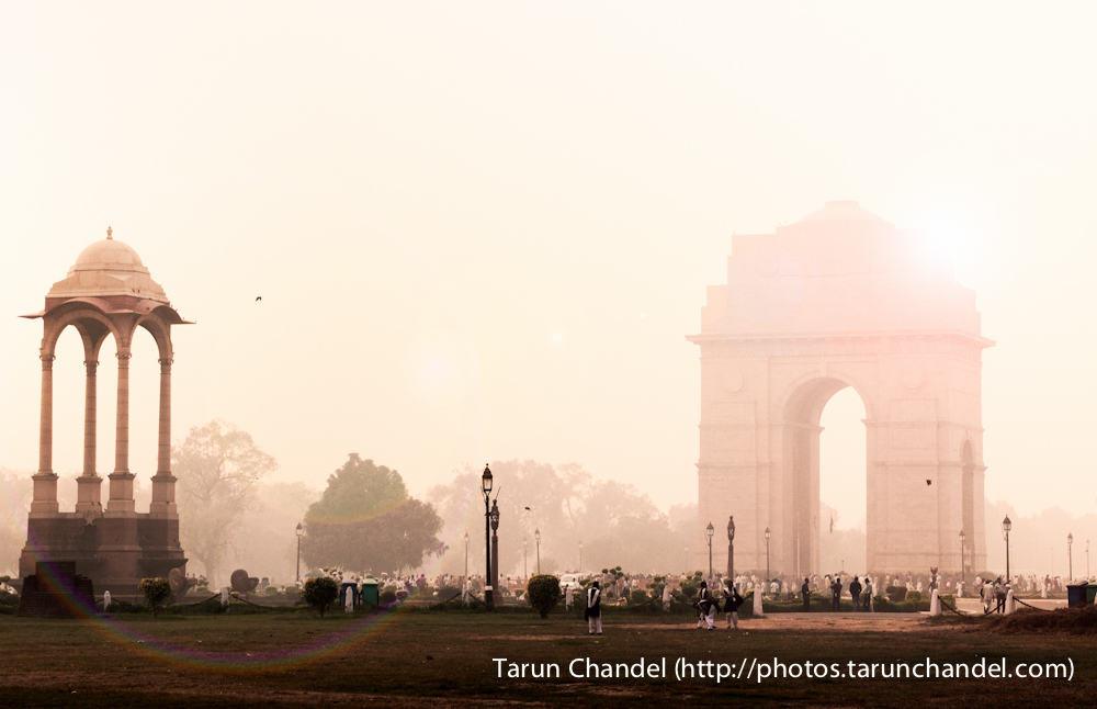 India Gate Sunset New Delhi, Tarun Chandel Photoblog
