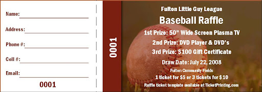 Displaying (18) Gallery Images For Baseball Ticket Template...