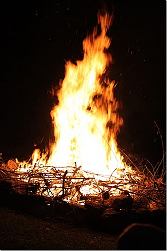 fall 2010 bonfire