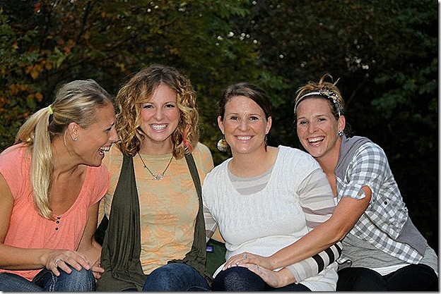 fall 2010 sisters laugh