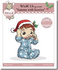 A221_Sammy with licorice