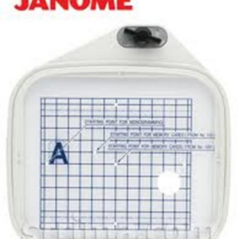Janome MC350e | Hoop A & Hoop B