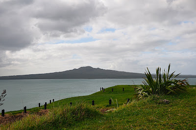Rangitoto Island as seen from Devonport