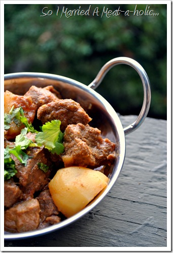 Kerala Beef and Potato Curry