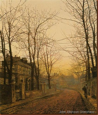 John Atkinson Grimshaw. An autumm idyll. 1885
