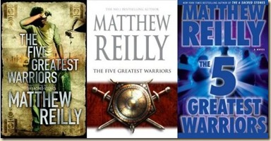 Reilly-FiveGreatestWarriors3Covers