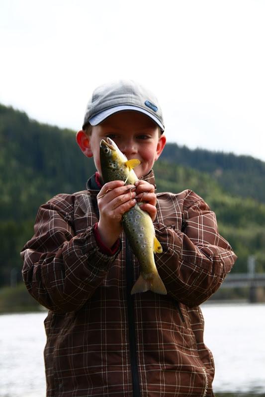 En stolt fisker