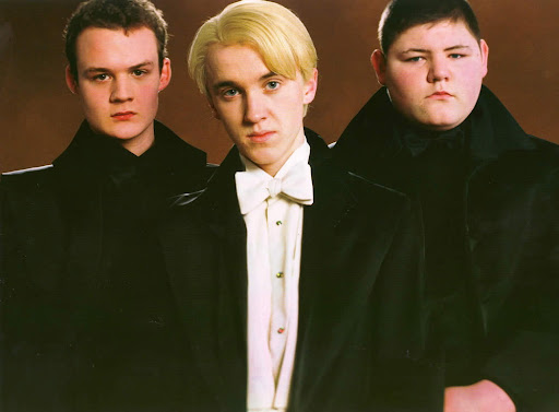 Gregory Goyle, Draco Malfoy & Vincent Crabbe