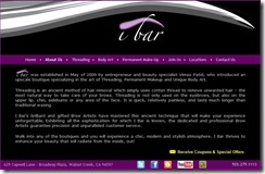 iBar Website