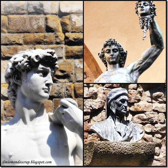 collage statue firenze1