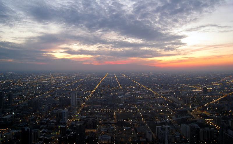 John Hancock Center看芝加哥夜景 - bldr - Georges blog