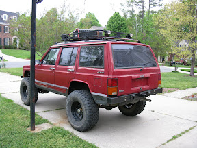 XJ without rear quarter panel armor