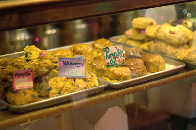picture of Alice's display of scones
